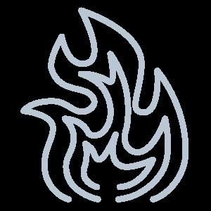 roeget-fisk-ikon
